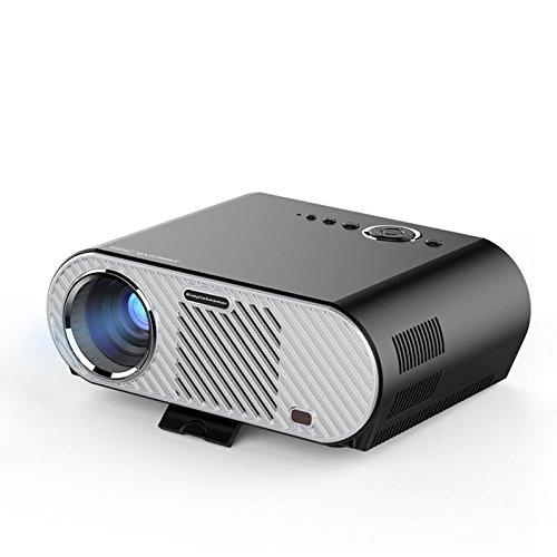 Projecteur 3200 Lumen 1280 * 800 Lecteur multimédia Beamer 720P Projecteur LCD LED pour salle de cinéma Home Cinéma HDMI VGA USB AV