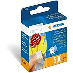 Herma 1070 Pastille Adhesive pour Photo 500 pieces