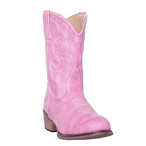 Silver Canyon Boot and Clothing Company Kinder Monterey Kinder Western-Cowboy-Stiefel für Junge 3 M US kleine Kinder rosa