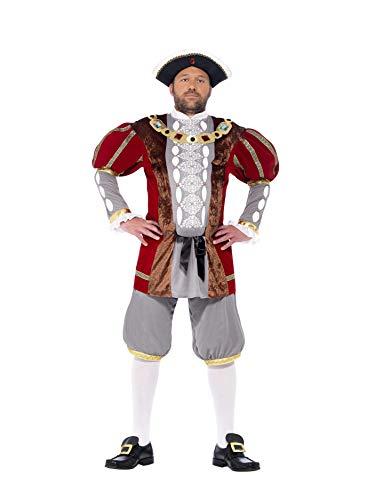 Smiffy's 43431XL - Henry VIII Deluxe Kostüm mit Jacke und Hose