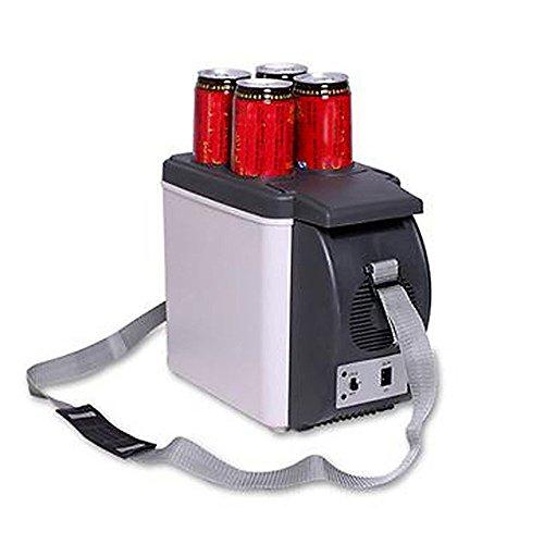 Glacière pour voiture 2 en 1 chaud et froid 6 litres Alimentation 12 V Camping Sac isotherme scaldino du camion électrique bateau
