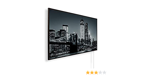 Bildheizung in HD Qualit/ät mit T/ÜV//GS 450 Watt 200+ Bilder mit K/önighaus Smart Thermostat und APP f/ür IOS//Android K/önighaus Fern Infrarotheizung 227 Fenster offen