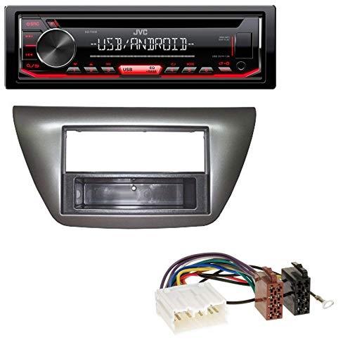 caraudio24 JVC KD-T402 USB AUX MP3 1DIN CD Autoradio für Mitsubishi Lancer Evo (2004-2008) - Mitsubishi Lancer 2007