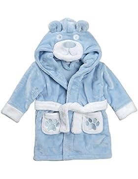 Baby Bademantel super weich Plüsch Fleece von 6 Monate bis 18 Monate Junge oder Mädchen