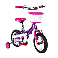 "Spartan - 12"" Nova Kids Bicycle - Purple"
