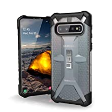 Urban Armor Gear Plasma per Samsung Galaxy S10 Custodia Protettiva Cover con Standard Militare Americano Case [Compatibile con Il Qi Wireless] - Trasparente