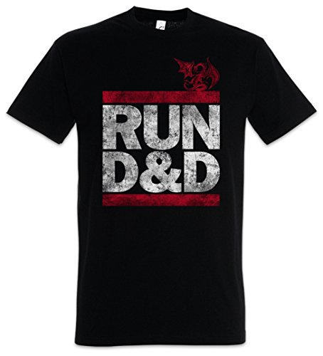 Run D&D Herren T-Shirt - Run Shirt Fun