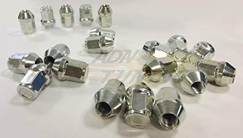 20 Ecrous Coniques Fermes 12x150 - L2 32mm - Cle 19 ADNAuto