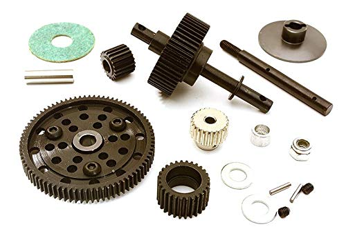 Integy RC Model Hop-ups C24441 Billet Machined Heavy-Duty Gear Set for Axial 1/10 Wraith