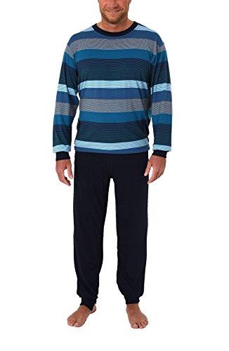Normann Care Herren Pflegeoverall Langarm mit Reissverschluss am Rücken und Bein 271 170 90 755, Farbe:türkis, Größe2:XXL