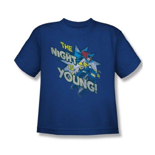 Dc Comics - Die Nacht ist jung T-Shirt in Königsblau Royal Blue