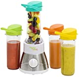 Bestron AFM400 Smoothie Maker mit 4 Flaschen