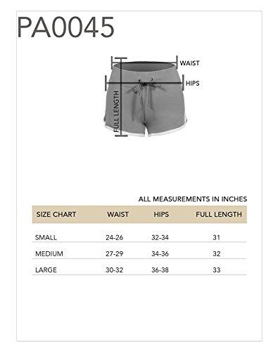 Mini Shorts Jersey Aktive Wear Sport figurbetont bequem - 4