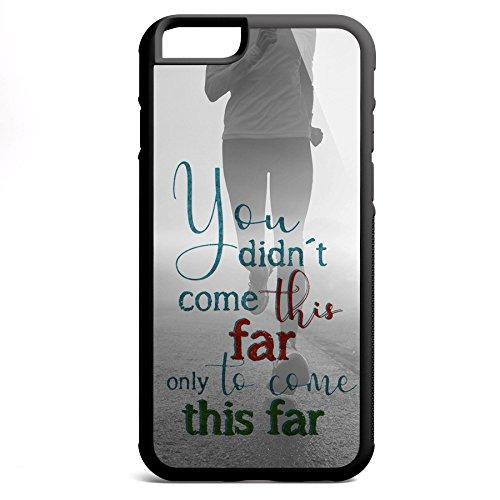 Smartcover Case You did not come this far z.B. für Iphone 5 / 5S, Iphone 6 / 6S, Samsung S6 und S6 EDGE mit griffigem Gummirand und coolem Print, Smartphone Hülle:Samsung S6 EDGE weiss Samsung S6 EDGE schwarz