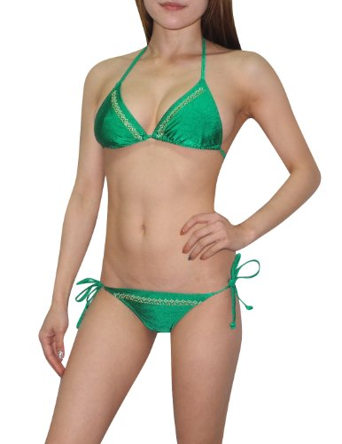 2-pcs-set-old-navy-womens-sexy-top-bottom-dri-fit-surf-swimsuit-l-b-cup-green