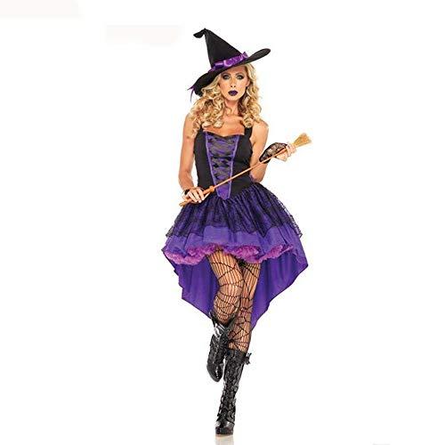 Mädchen Hexe Wilde Kostüm - Fashion-Cos1 Neue Vampir Kostüm Cosplay Sexy Kostüm Wilden Karneval Frauen Mädchen Halloween Kostüm Erwachsene Hexe Kostüm (Size : XL)