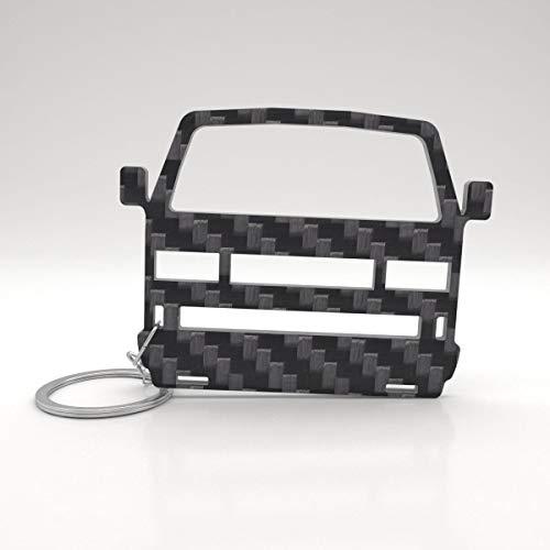 Preisvergleich Produktbild ACF VW Schlüssel-Anhänger | echtes Carbon | Geschenk-Idee | Tuning | VW T3 Bulli Transporter TDI
