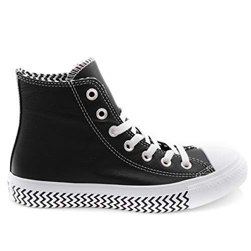 Converse Chuck Taylor All Star, Baskets Hautes Femme, Noir (Black 564943c), 39 EU