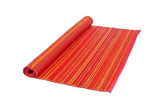 Outdoor-rot-teppich (MaximaVida luxuriöser Outdoor Teppich Lima - Rot - 120 x 180 cm - hergestellt in Indien)