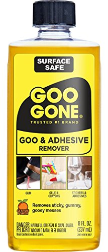 Goo Gone Original Liquid-Oberfläche Sicher Entferner-Entfernt Sicher Aufkleber, Etiketten, Aufkleber, Rückstände, Klebeband, Kaugummi, Fett, Teer-8Oz