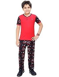 Boy's Sporty Night Wear By Red Ring