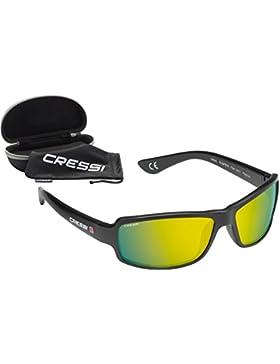 Cressi Ninja Floating - Gafas de Sol Premium - Unisex Adulto Polarizadas Protección 100% UV, Talla Única