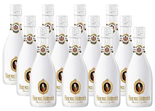 12 Flaschen Fürst Metternich Chardonnay weiß a 0,2L Picollo