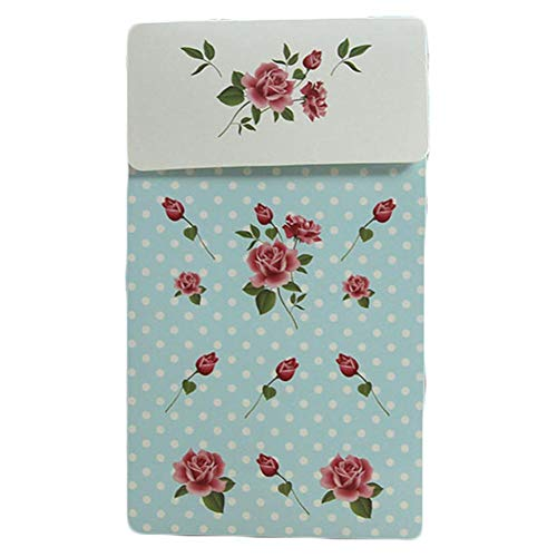 Minimew Rose Pattern Gift Paper Bag Set of 6, Candybox with Handles Perfect for Gifts, Birthday Parties, Wedding 3.74 4.13 2.56 In