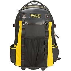 Stanley 1-79-215 - Mochila con ruedas FatMax, 50 departamentos, capacidad 20 kg, base rígida