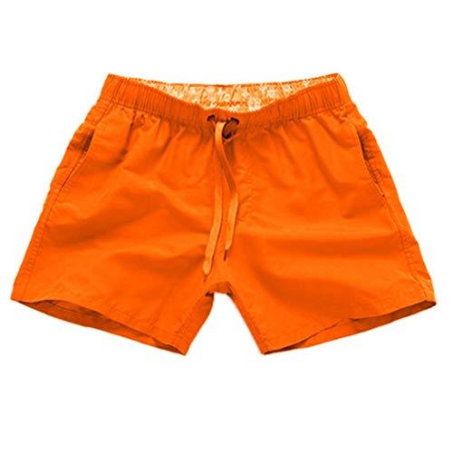 Badehosen Herren Arbeitshosen SpleißEn Streifen Pure Farbe Strand BeiläUfig Kurze Badeshorts Sommer - Lace Peplum Kleid