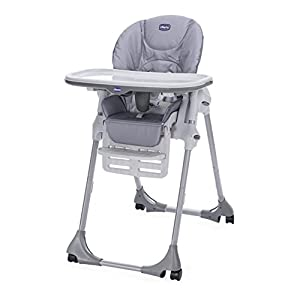Chicco POLLY EASY Highchair Nature - 4 WHEEL