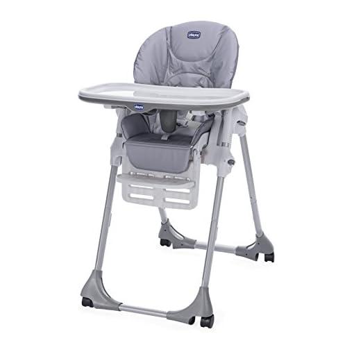 Chicco POLLY EASY Highchair Nature – 4 WHEEL 41J MLFcMHL