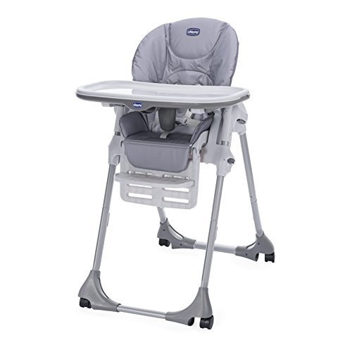 Chicco POLLY EASY Highchair Nature – 4 WHEEL 41J MLFcMHL