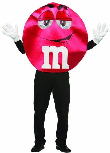Red Deluxe Kostüm M&m - Rasta Imposta M & Ms Kostüm Deluxe Red Adult