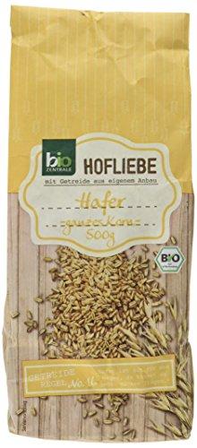 biozentrale Hofliebe Hafer - ganzes Korn - Bio, 500 g
