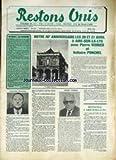 RESTONS UNIS [No 221] du 01/03/1985 - AIRE-SUR-LA-LYS AVEC PIERRE VERRIER ET VOLTAIRE...