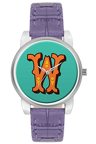 Women's Watch, BigOwl Minimal W Typography Designer Analog Wrist Watch For Women - Gifts for her dials