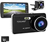 Best Dash Cam Duals - TOGUARD 【Upgraded 720P Rear Cam】 Full HD 1080P Review