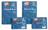 Challenge dreifaches Durchschlagpapier-Heft Ref k63080, kohlenstofffrei liniert 105x f63079[5Stück] 210x130 mm blau