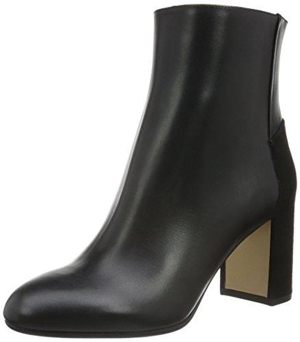 Hugo Eloen 10191386 01, Bottes Classiques Femme Noir (Black 001)