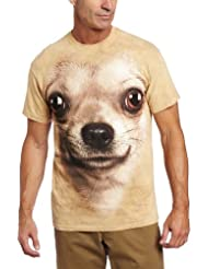 T-Shirt Adulte Chien-Chihuahua