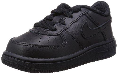 Nike Baby Jungen Force 1 (TD) Sneakers, Schwarz, 27 EU (Basketball Force)
