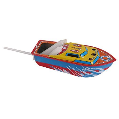 Preisvergleich Produktbild Kerze Boot Blechspielzeug