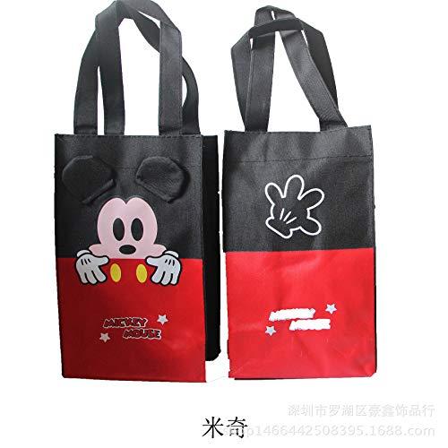 Cartoon KT Katze Jingle Katze tragbare Wasser Tasche weinbeutel im freien einzigen doppel Flasche Tasche Kinder Regenschirm Tasche wasserdicht Mickey -