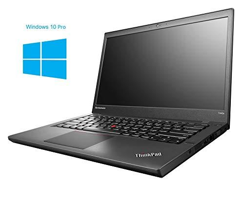 Lenovo Thinkpad T440 Notebook / Laptop | 14 Zoll Display | Intel Core i7-4600U @ 2,1 GHz | 8GB DDR3 RAM | 180GB SSD | Windows 10 Pro (Generalüberholt)