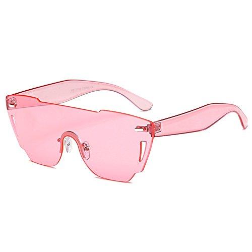 ZYPMM 2017 Europa und die Vereinigten Staaten Mode Damen Sonnenbrille neue Strand Brille ozeanischen Film Stück der einzelnen Sonnenbrillen ( Color : Rosa )
