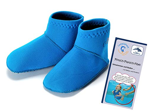 Konfidence/Lampiphant® Paddlers, B-12-24, Neoprensocken, Blau, 12-24 Monate