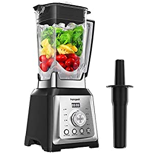 Standmixer Smoothie Maker, homgeek 2000W Smoothie Blender, Schleifer und...