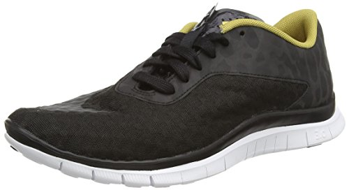 Nike - Free Hypervenom Low Fc, Sneakers da uomo Nero (Schwarz (Black/Flt Gold-White-Black 001))