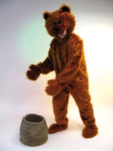 Karneval Erwachsenen Kostüm Bär Overall in Plüsch Universalgr. (Plüsch Bär Kostüm)